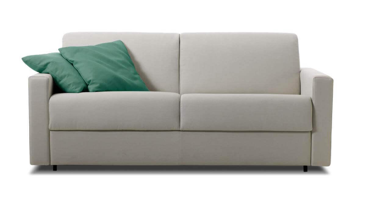 Arredamenti Sgrigna divano comodo grigio due posti