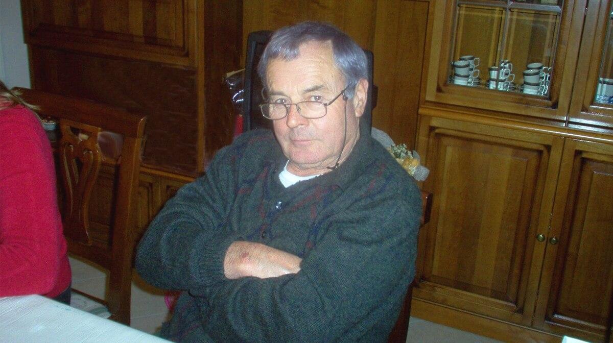 Valdimiro Sgrigna fondatore arredamenti sgrigna giove penna